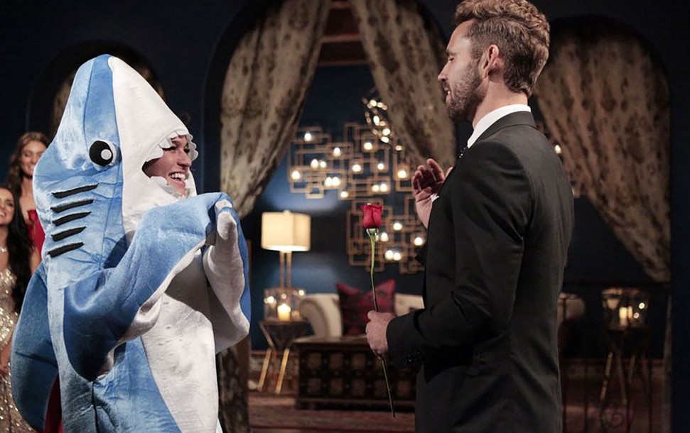 The Bachelor still hasn't jumped the shark...even when a shark showed up on the actual show. (ABC)