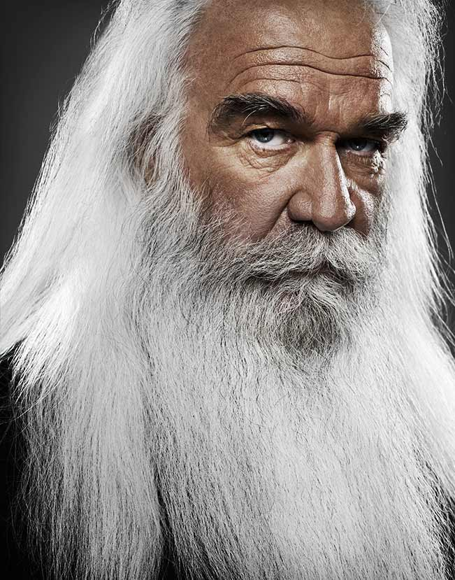 Mark DeLong - Celebrity Photographer - Celebrity with a large white beard.