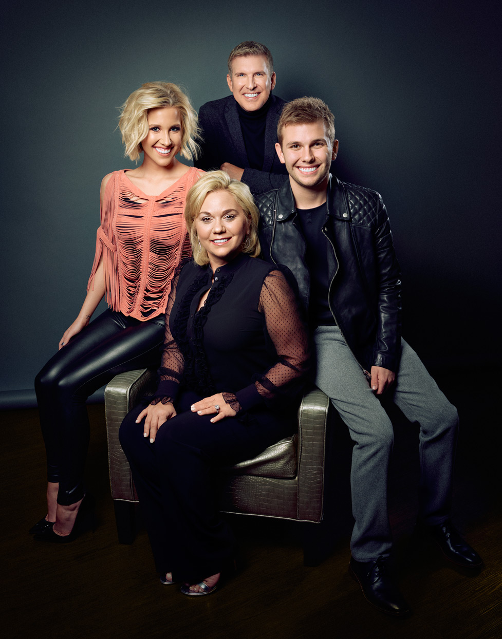 Mark DeLong - Celebrity Photographer - Actor and Actress family photo.