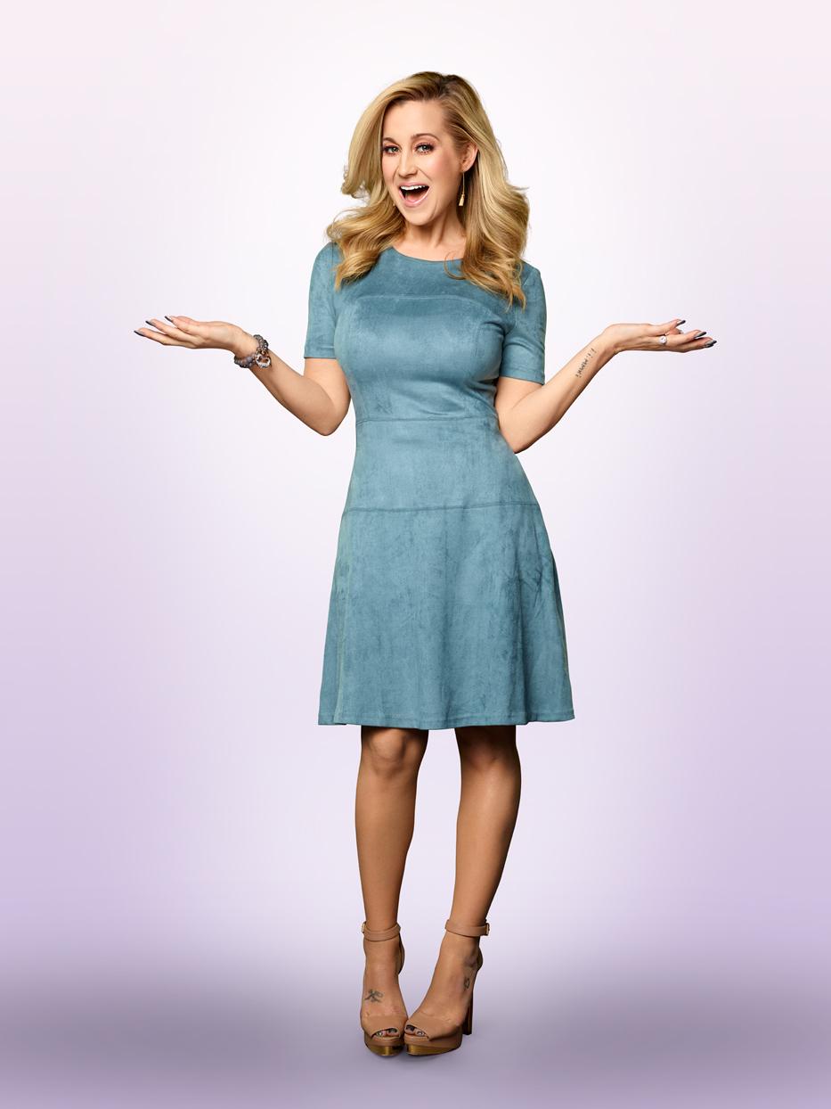 Mark DeLong - Celebrity Photographer - Blonde actress in a blue dress.