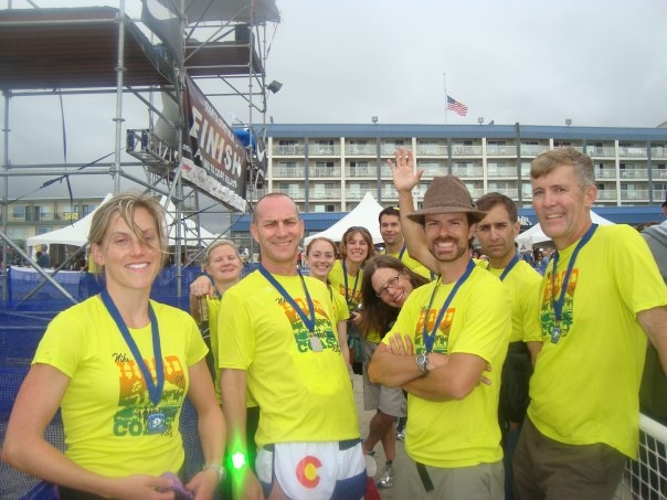 At Hood to Coast, I am the second from the left. I captained a team several years.  Always fun.