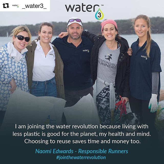 #Repost @_water3_ with @repostapp ・・・ 💧#jointhewaterrevolution 💧 When she's not down at the beach picking up plastic trash, #ecowarrior @naomiedwards can be found repping for the environment with @intrepidlandcare and @responsiblerunners just to name a few! That's one busy lady! #water3 #environment #conservation #australia #thinkgreen #makeadifference #sustainable #beachcleanup #goldcoast #responsiblerunners #intrepidlandcare