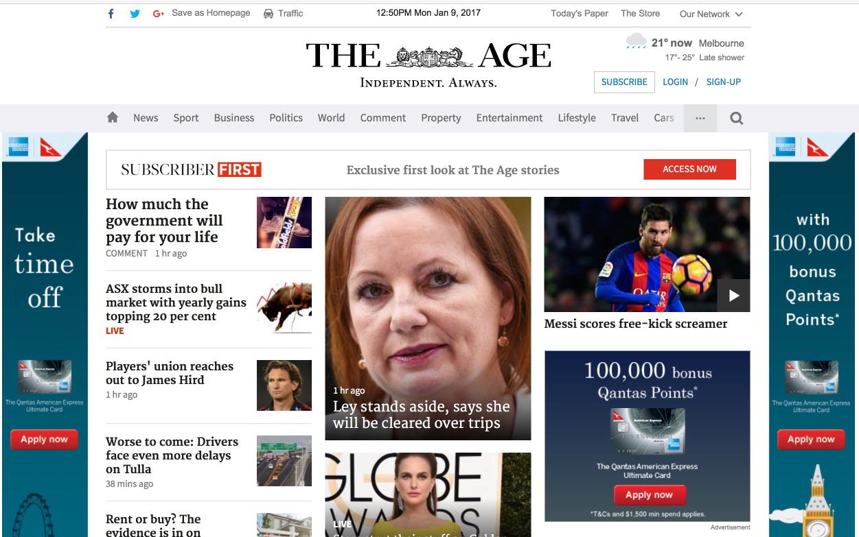 Main homepage image.