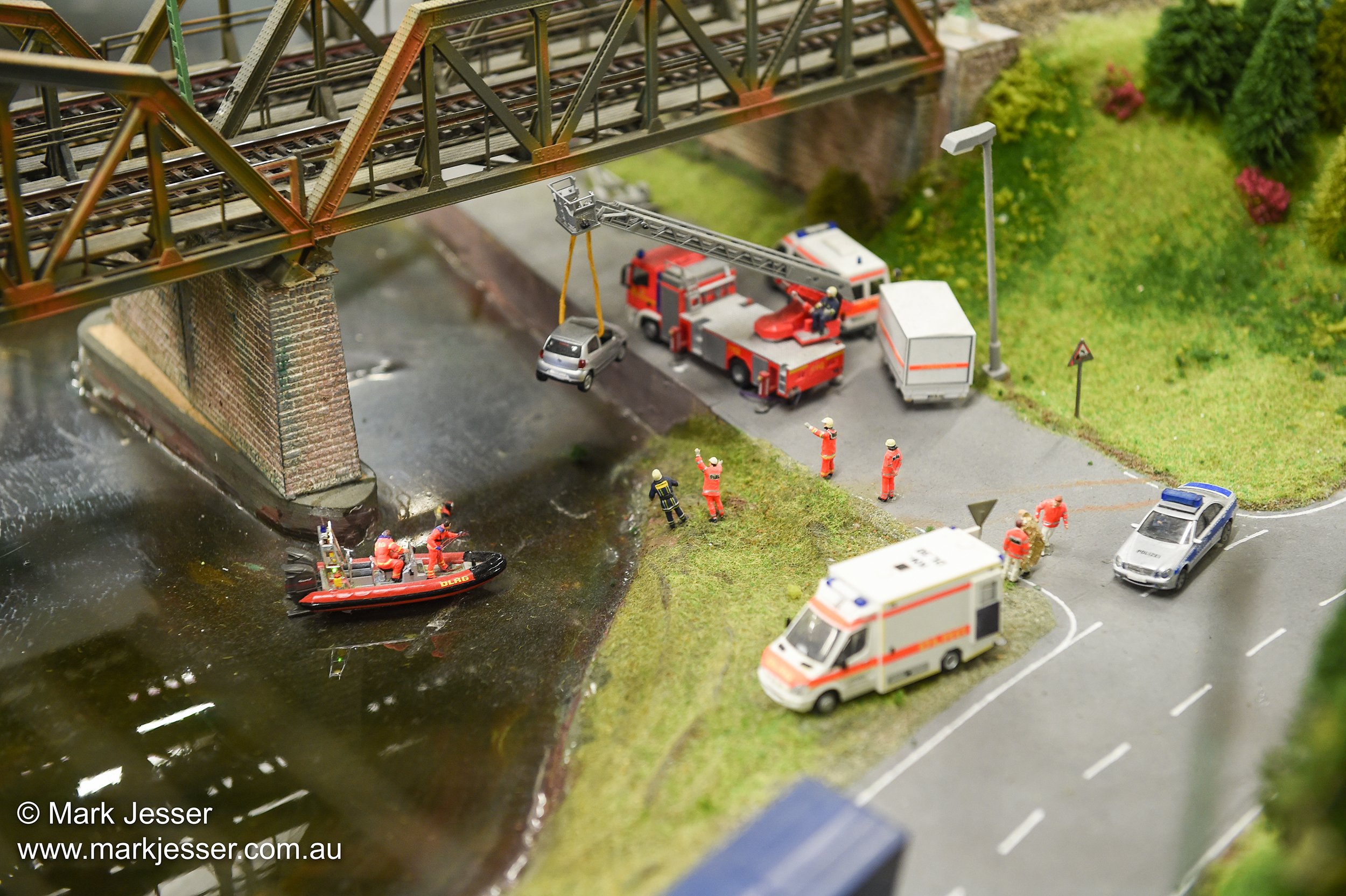 (Photo Mark Jesser) Hamburg, Germany. Miniature Wunderland.