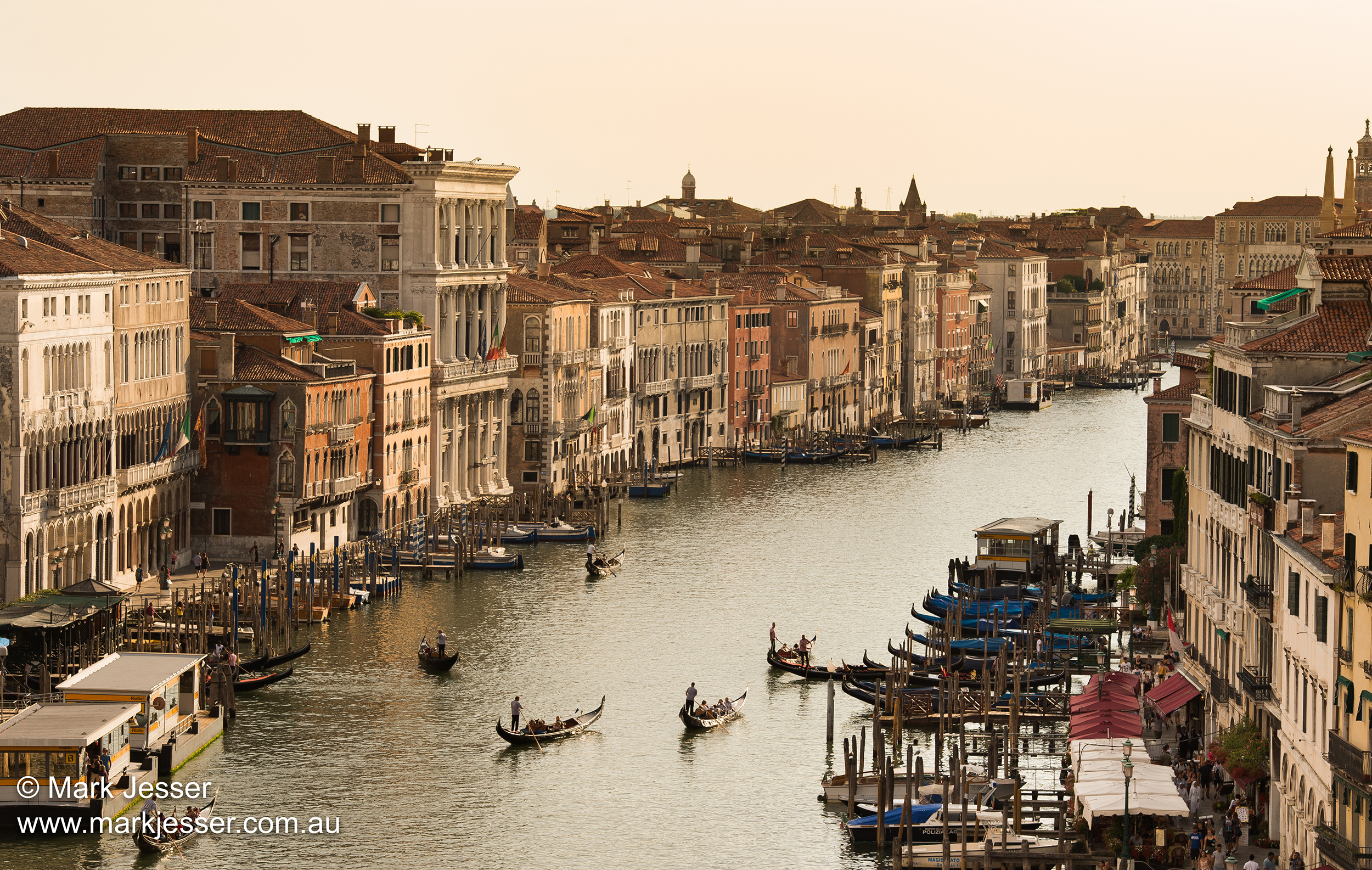 (Photo Mark Jesser) Venice, Italy. - Sunset in Venice.