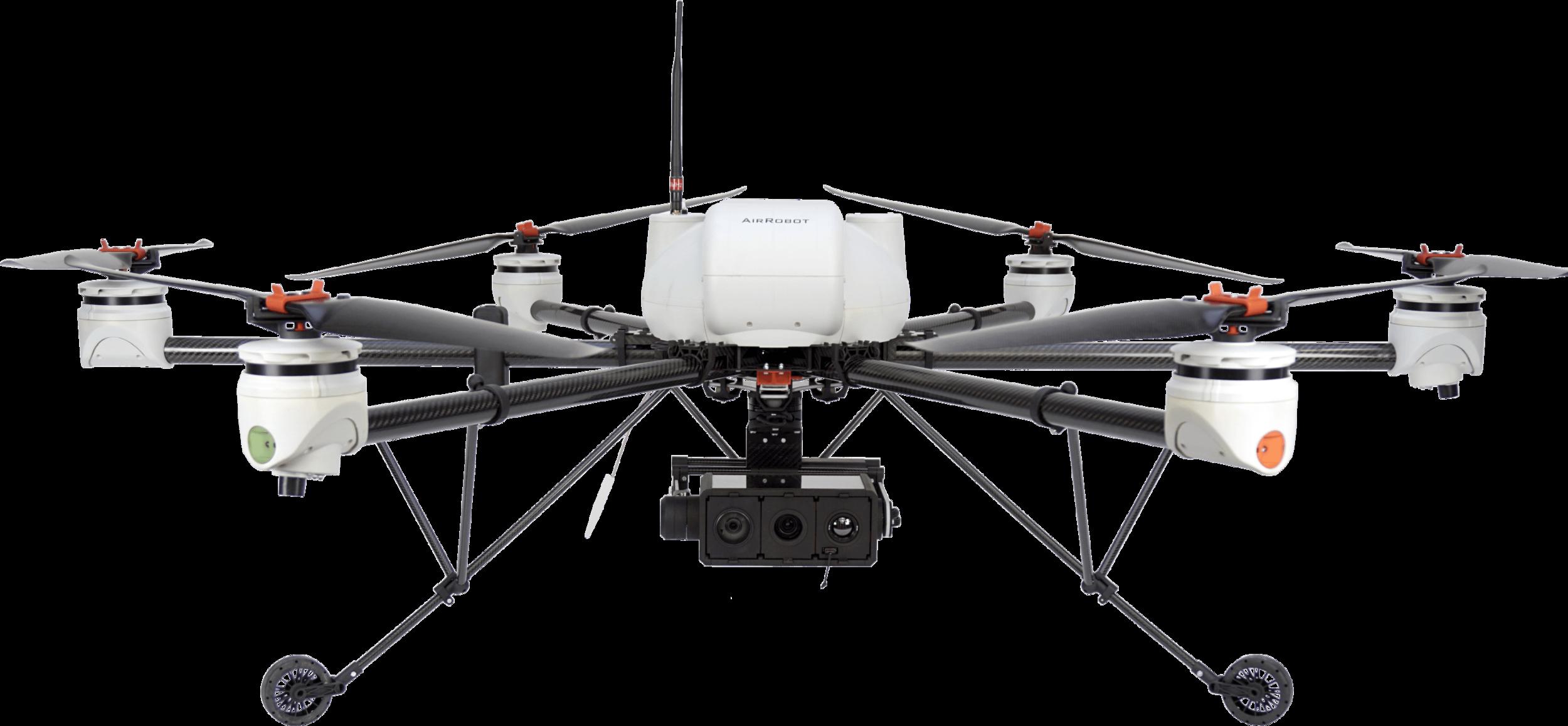 Airrobot AR200 - Specifications:45 minute flight times9kg weight3kg Payload3000m RangeModular Multi-Bay Gimbalhttps://www.airrobot.de/en-gb/ar200