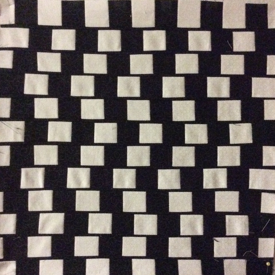 The cafe wall illusion - Do the lines veer up or down?