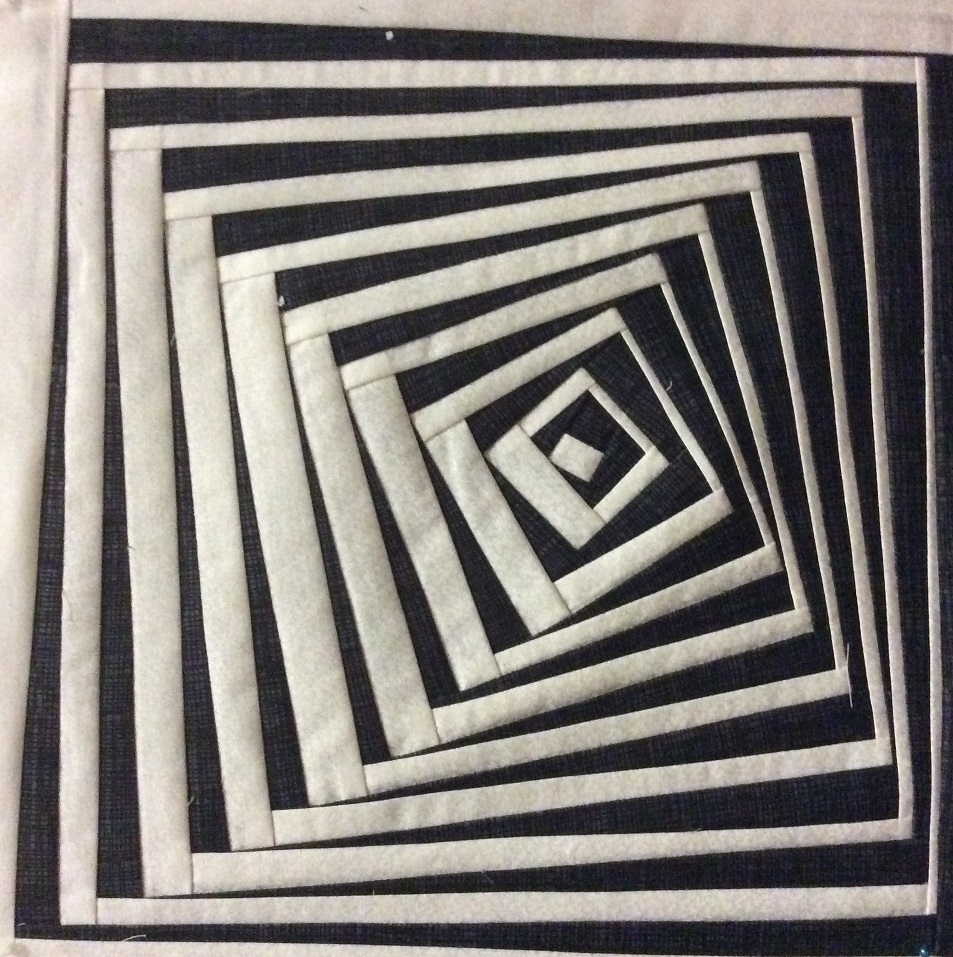Pyramid illusion - Does the shape appear to be 3 dimensional?Does it move towards you or away from you?