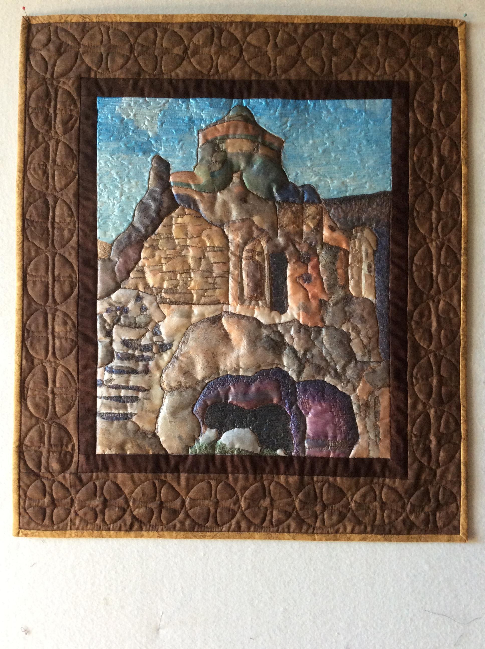 Rock cut church Cappadocia