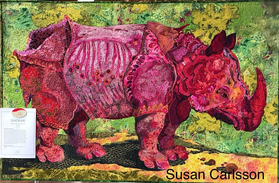 Rhinoceros by Susan Carlsson