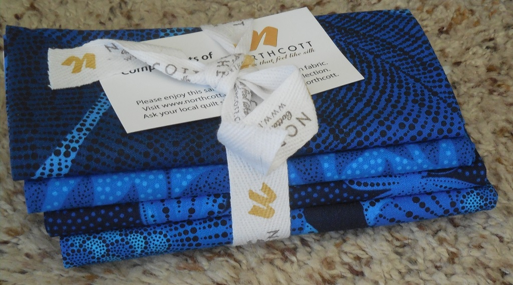 Northcott bundle worth $20. International shipping. Winner pays postage.