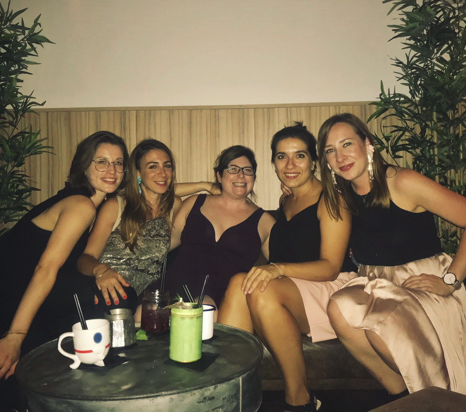 With my girlfriends in Barcelona, September 2018.