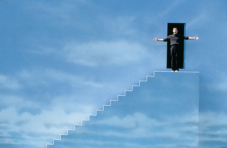 Living inside the Truman Show.  How Christianity blinds people.