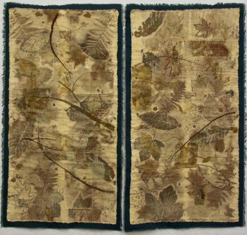 """Winter's Treasure (2pc) 46"""" w x 44"""" h (117 cm x 110 cm)"""