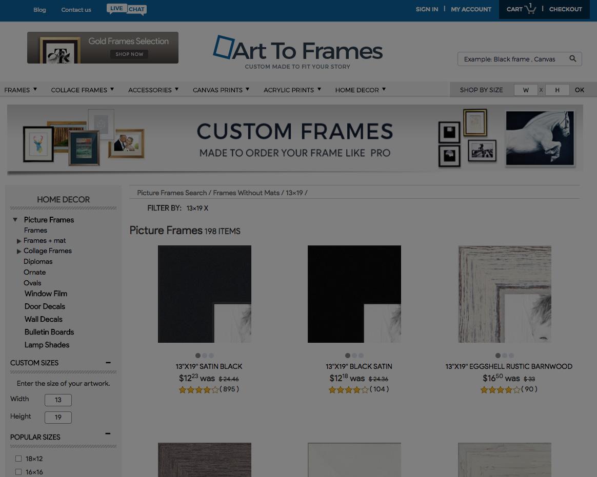 Art to Frames -