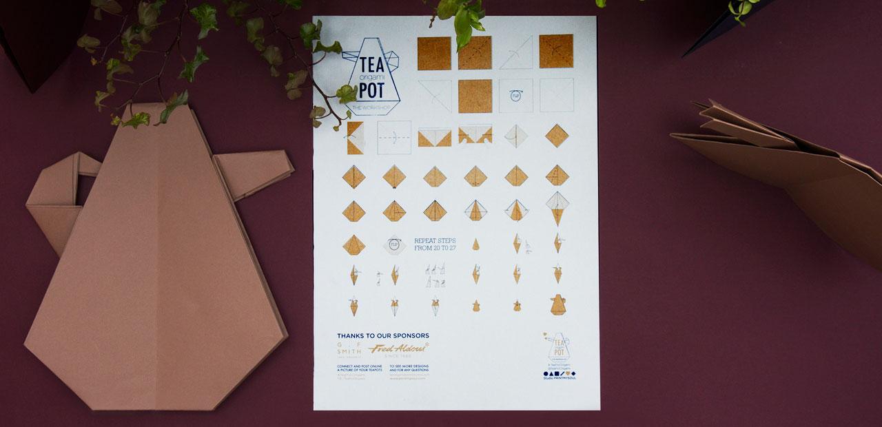 TeaPOT ORIGAMI WORKSHOP