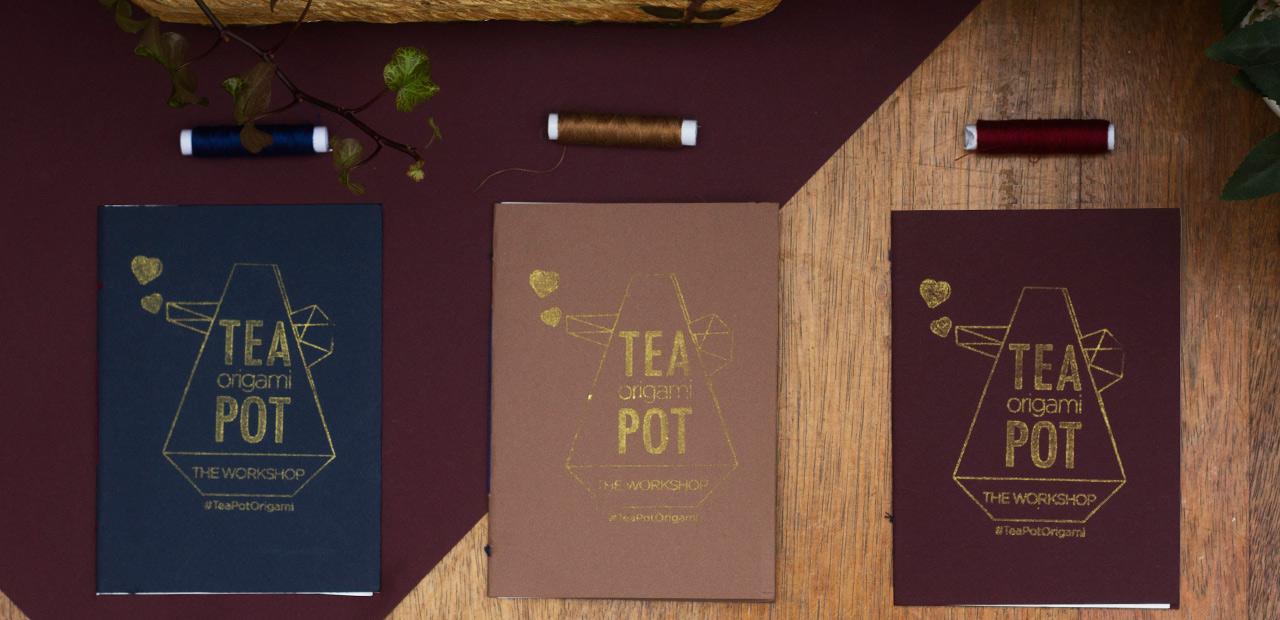 Tea Pot Origami Booklet
