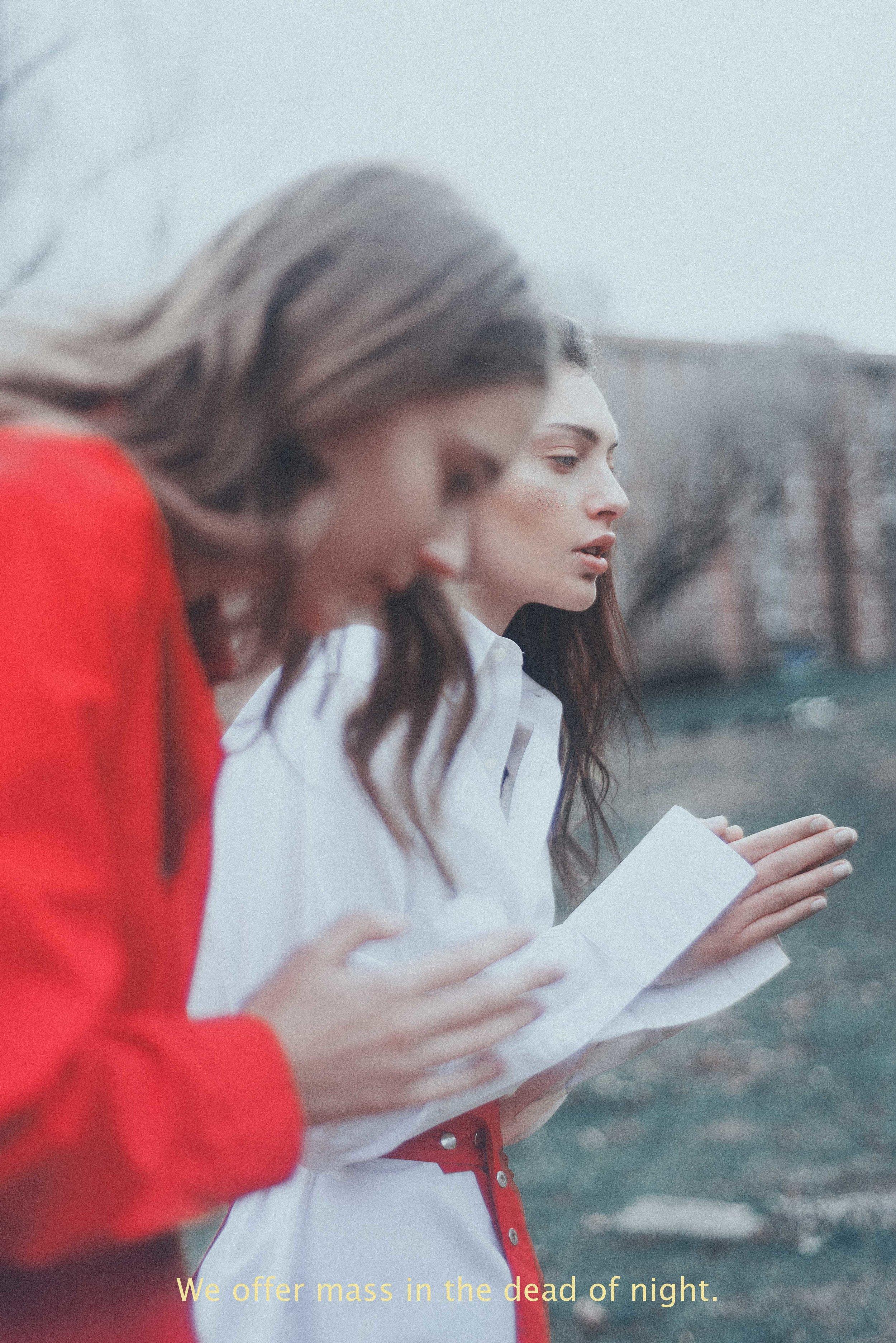 ONEMAG - DEAR FATHER VALIGNANO  PHOTOGRAPHY Jessica Zambellini / Art Direction & Style by Aparna Liz Mohan / Hair & Make Up by Ekaterina Kaya.