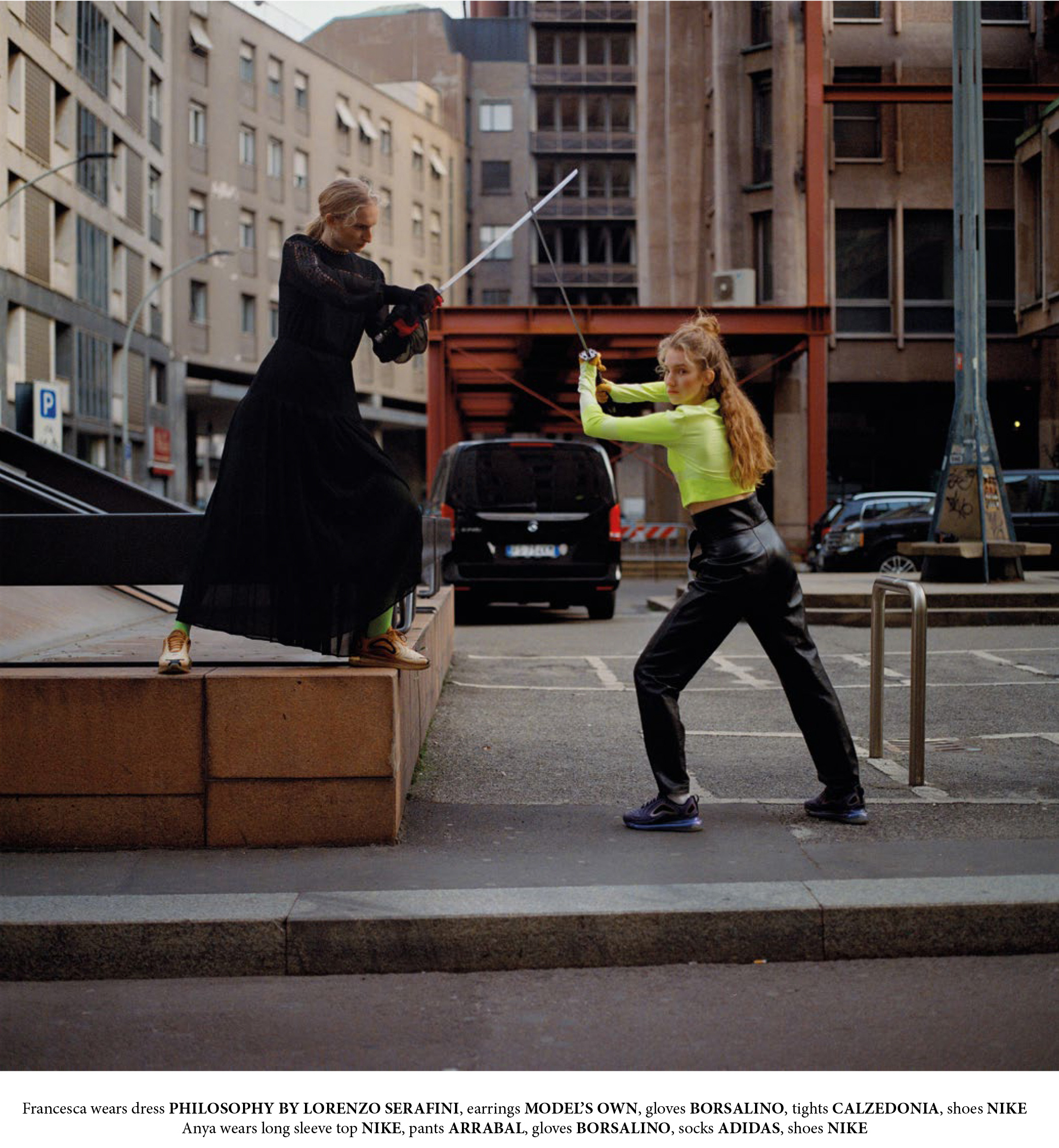 WRPD MAGAZINE   - HIGHLANDER IN TOWN   Photography by Gosha Pavlenko / Style by Nasty Shershen / Make-up by Sara Busan / Hair by Manuel Sunda