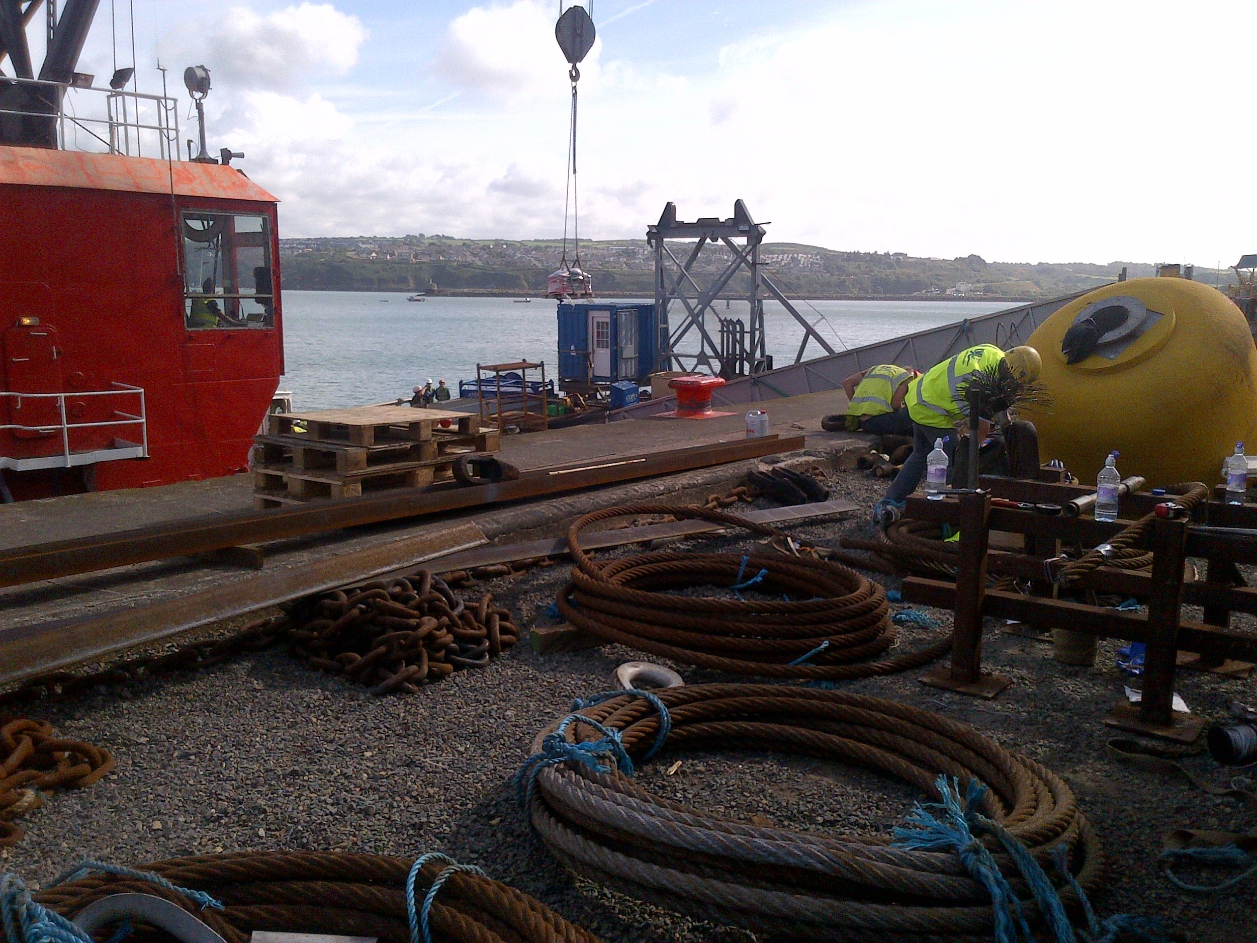 industrial wire rigging in fishguard