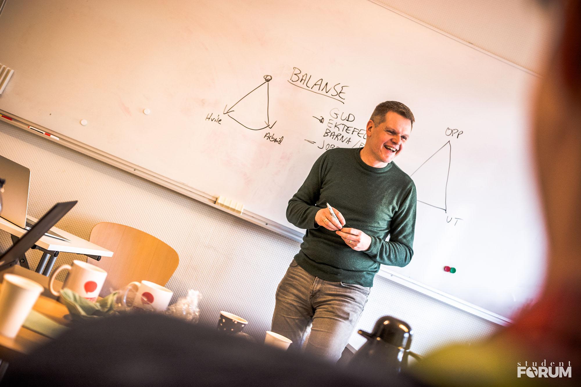 På StudentFORUM finner du mange seminarspor, slik at du lærer om det som er relevant for det yrket du skal leve brorparten av livet ditt med.