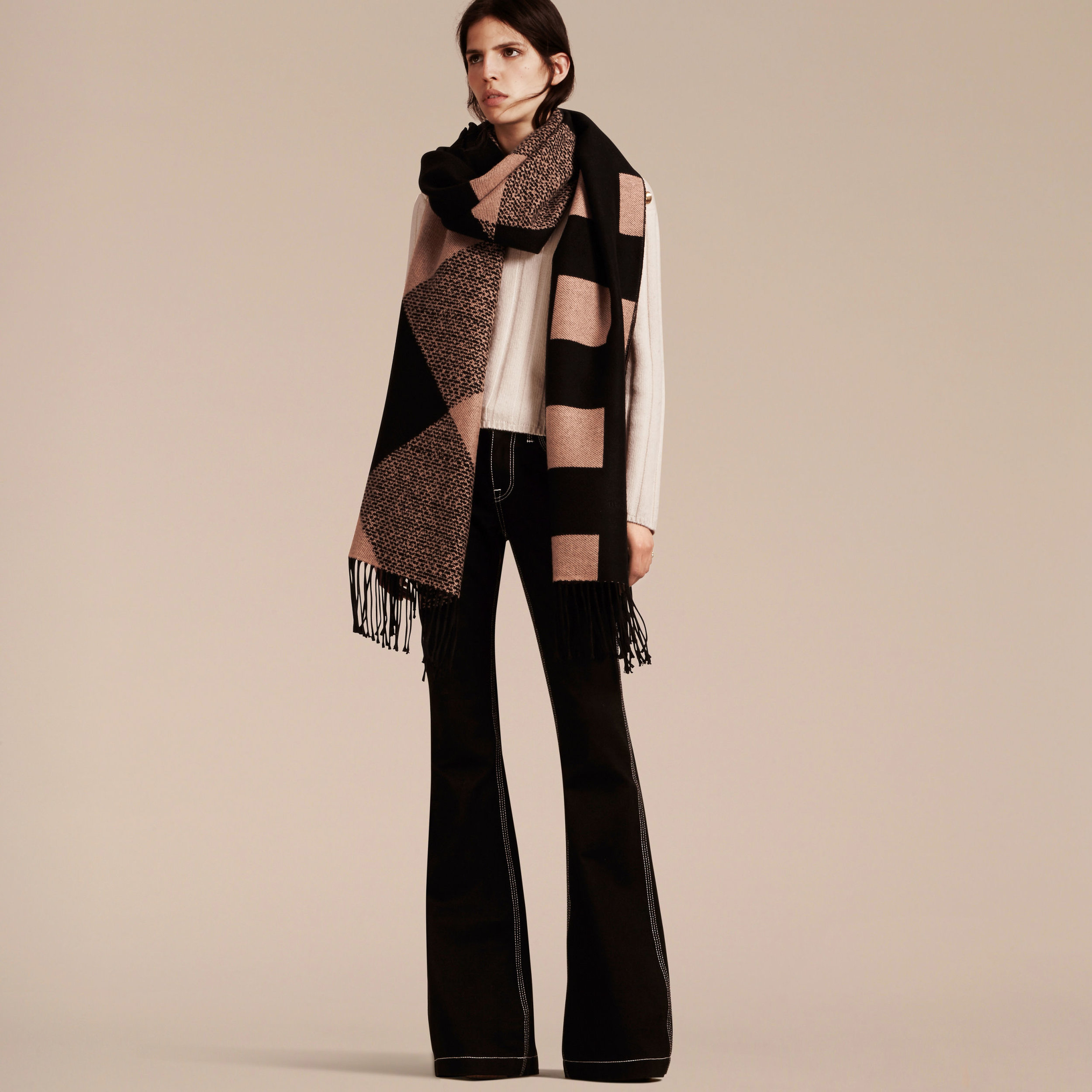 Reversible Cashmere Scarf by Burberry