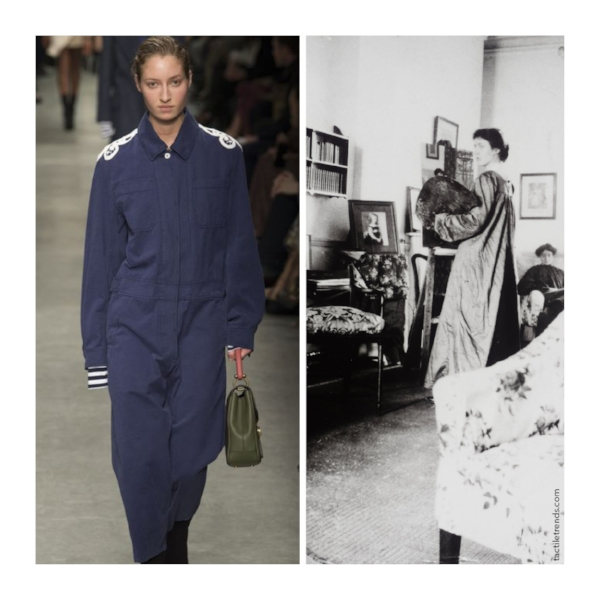 Images:  Burberry by Yannis Vlamos  |  Vanessa Bell Tate Archive