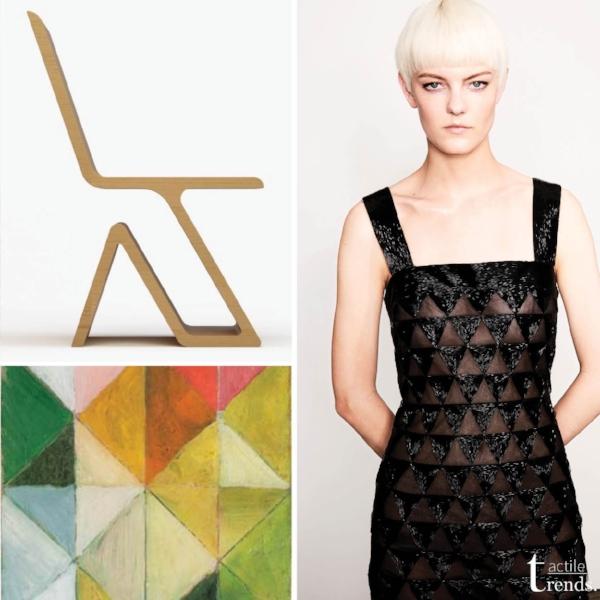 Images: Shiven 2 Chair by  Varsa  |  Sonia Delaunay  |  Oscar de la Renta