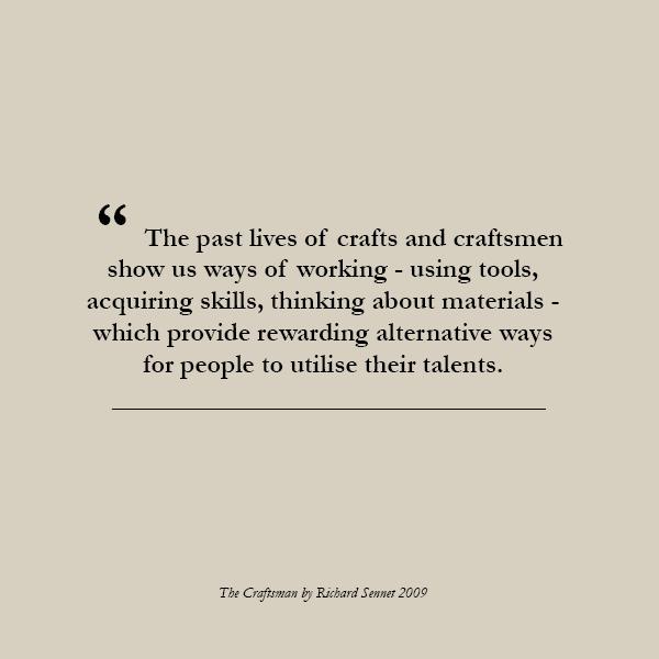 The Craftsman by Richard Sennett