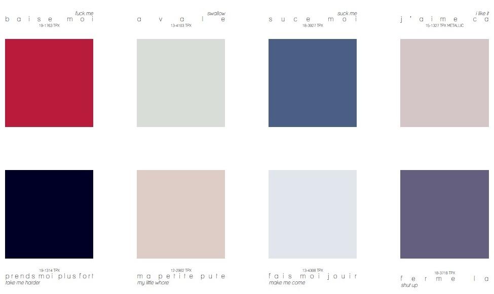 Dominance Colour Direction