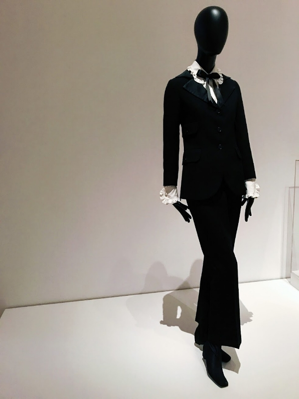 Yves Saint Laurent 'Le Smoking' Jacket at MoMa Exhibit 'Items: Is Fashion Modern?'