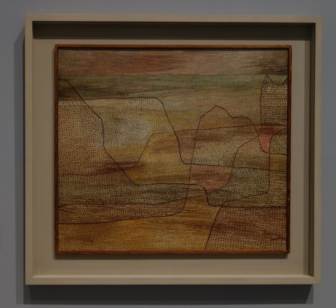 Paul Klee. A Collection Travelling Around the World  Looking into the Plain, 1932