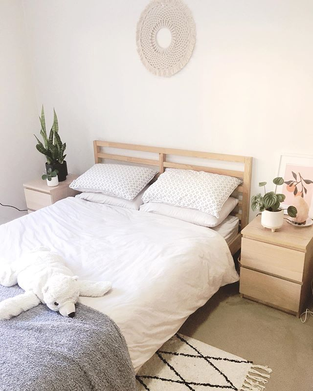 Crinkled linen and slow sundays ✨ . It's very hard to photograph our place, we get very little light. We often call it 'the cave' but it's home. This is also the cleanest it will ever be ... until I watch another Marie Kondo episode 🤔