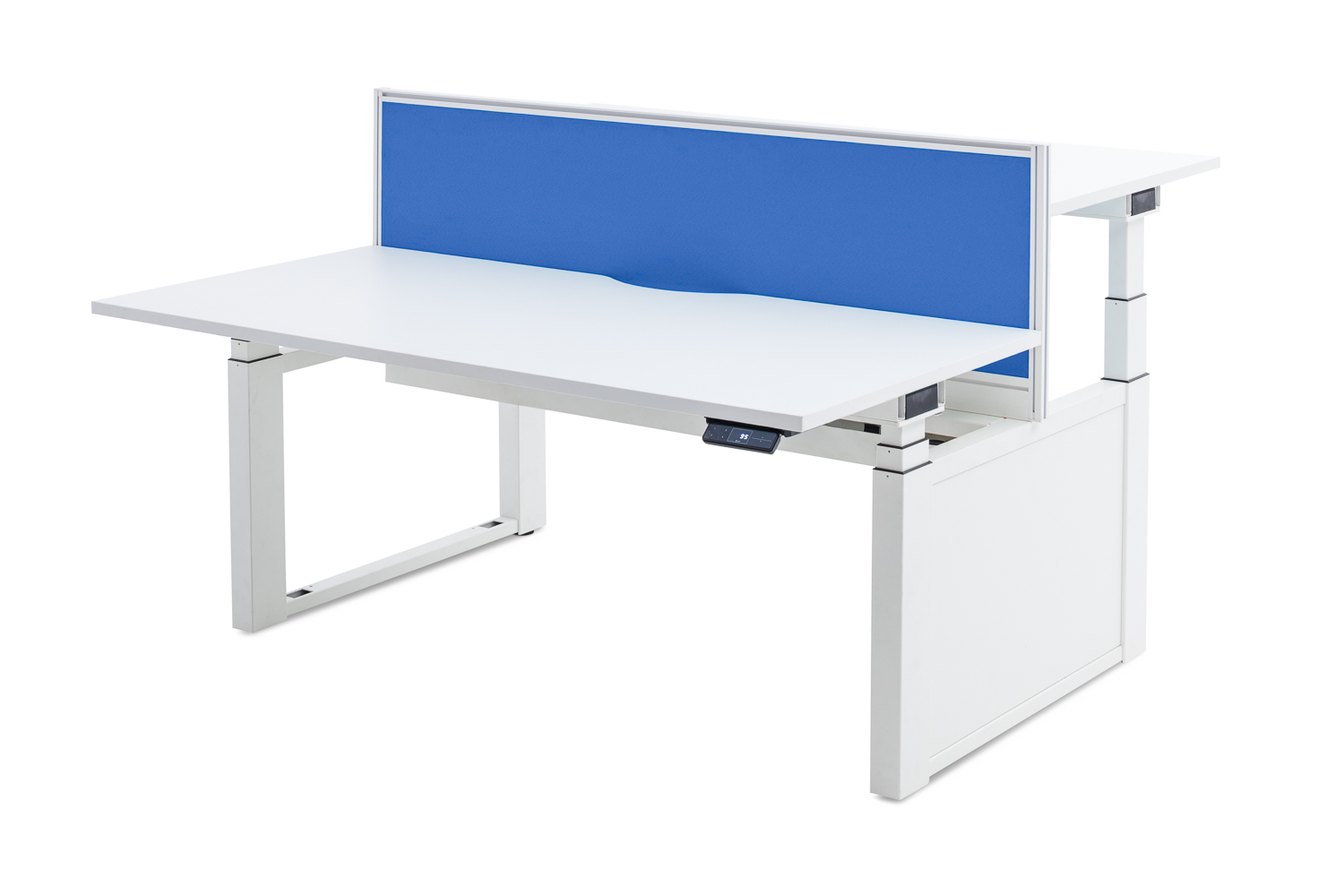 double sit stand desk with screen.jpg