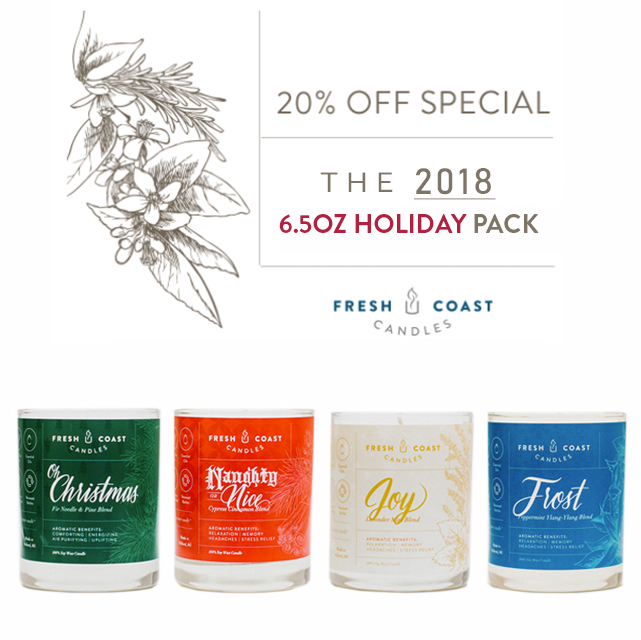 6.5oz Holiday Pack