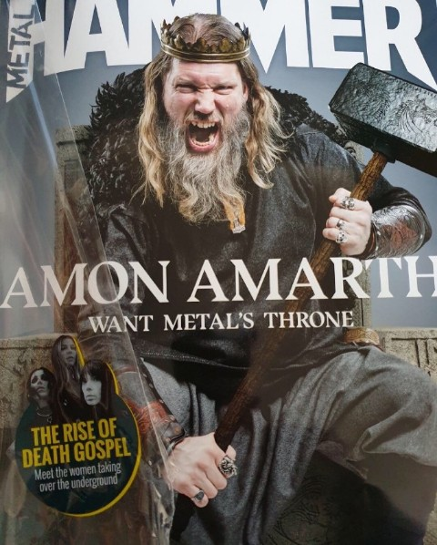 Metal Hammer Cover Louise Lemón