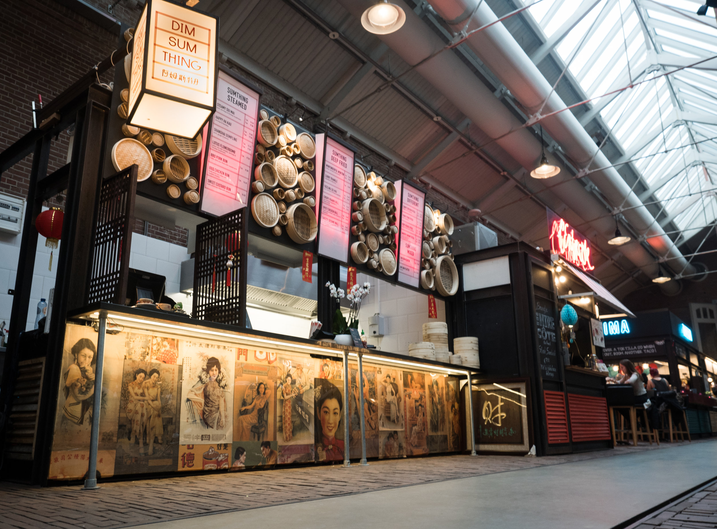 Dim sum thing- Foodhallen - amsterdam