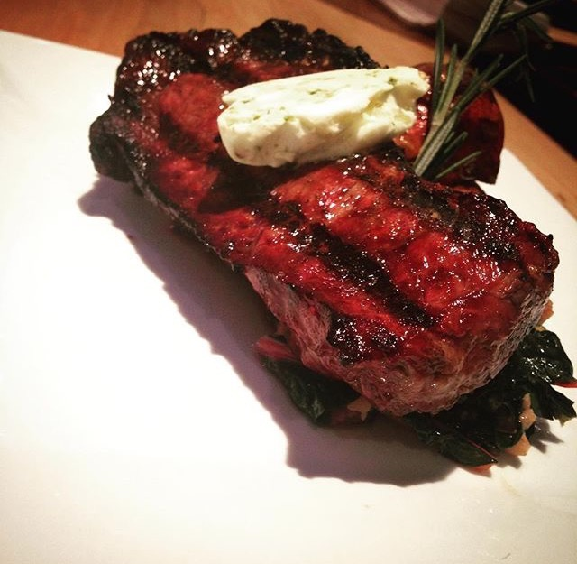 Fresh-grilled ribeye