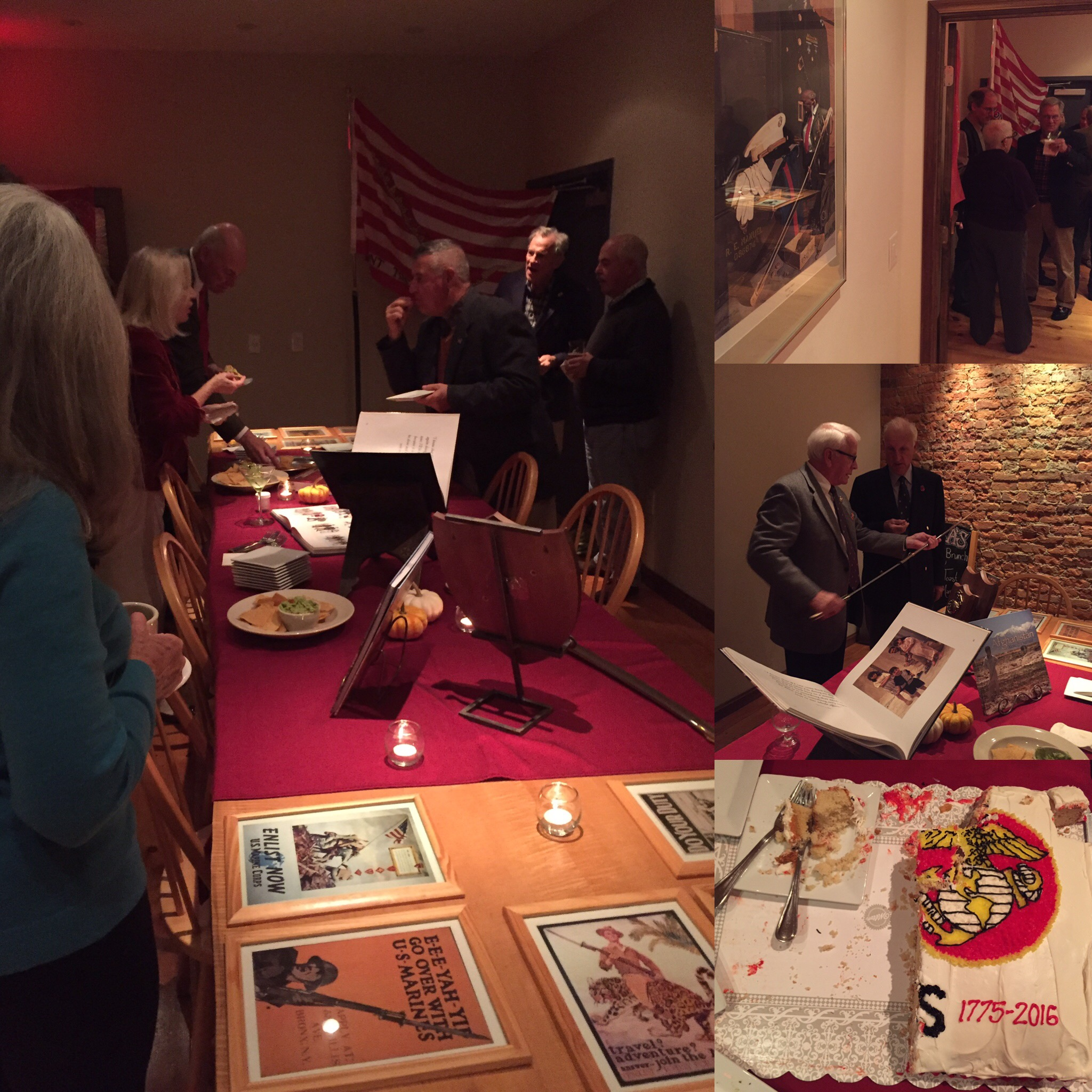 US Marine Corps' 241st Birthday Celebration at Tula's on Nov. 10, 2016. Thank you for your service!