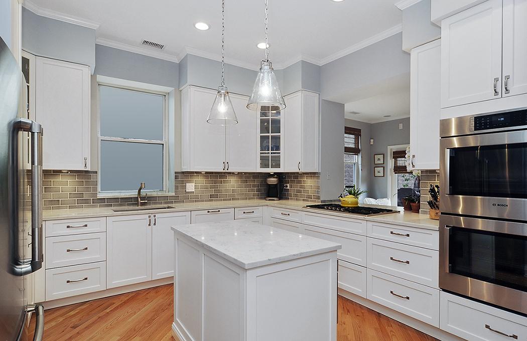 Classic kitchen renovation lakeview