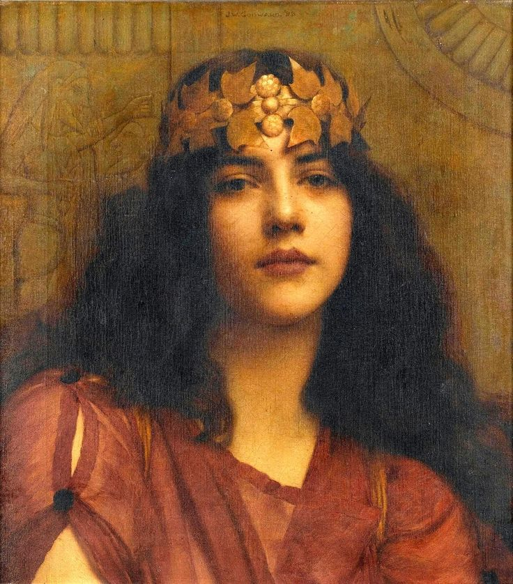 John William Godward, 1898