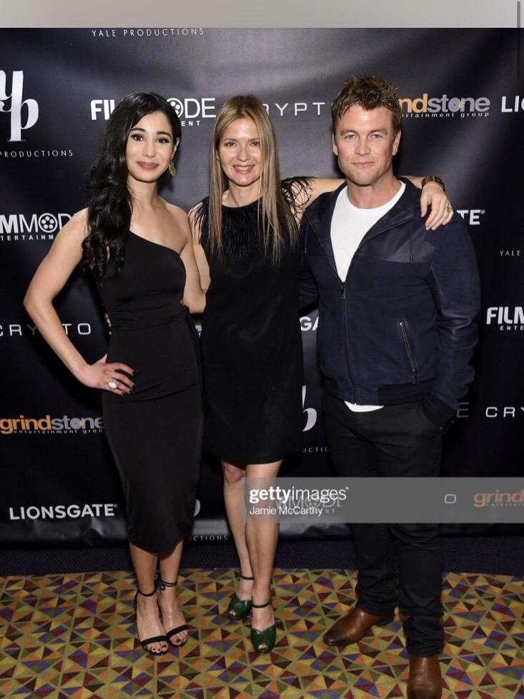 Alexandra Mazzucchelli, Jill Hennessy, Luke Hemsworth Courtesy of Getty Images