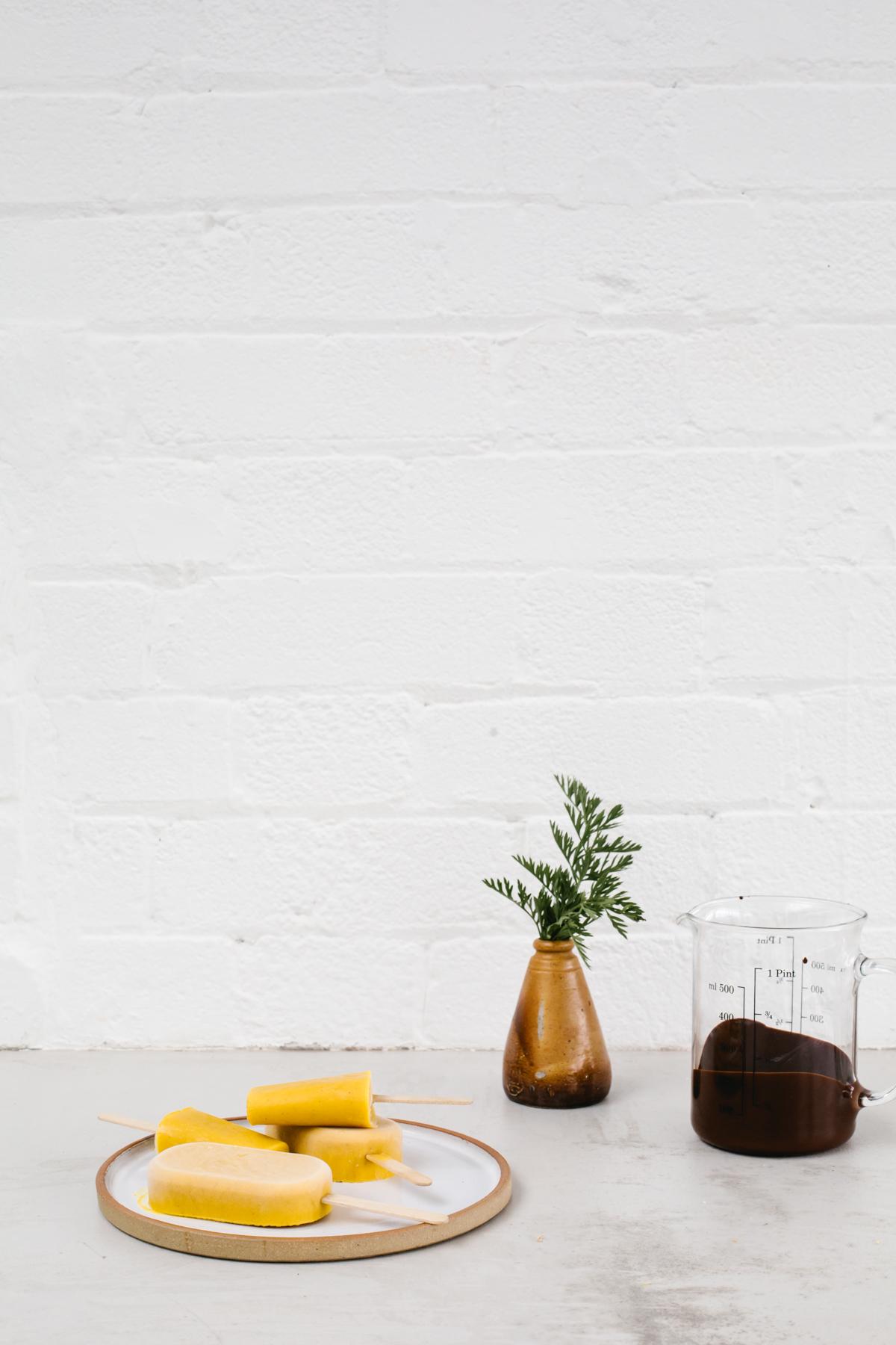 Carrot Halwa Popsicles by Erika Raxworthy / Rye London