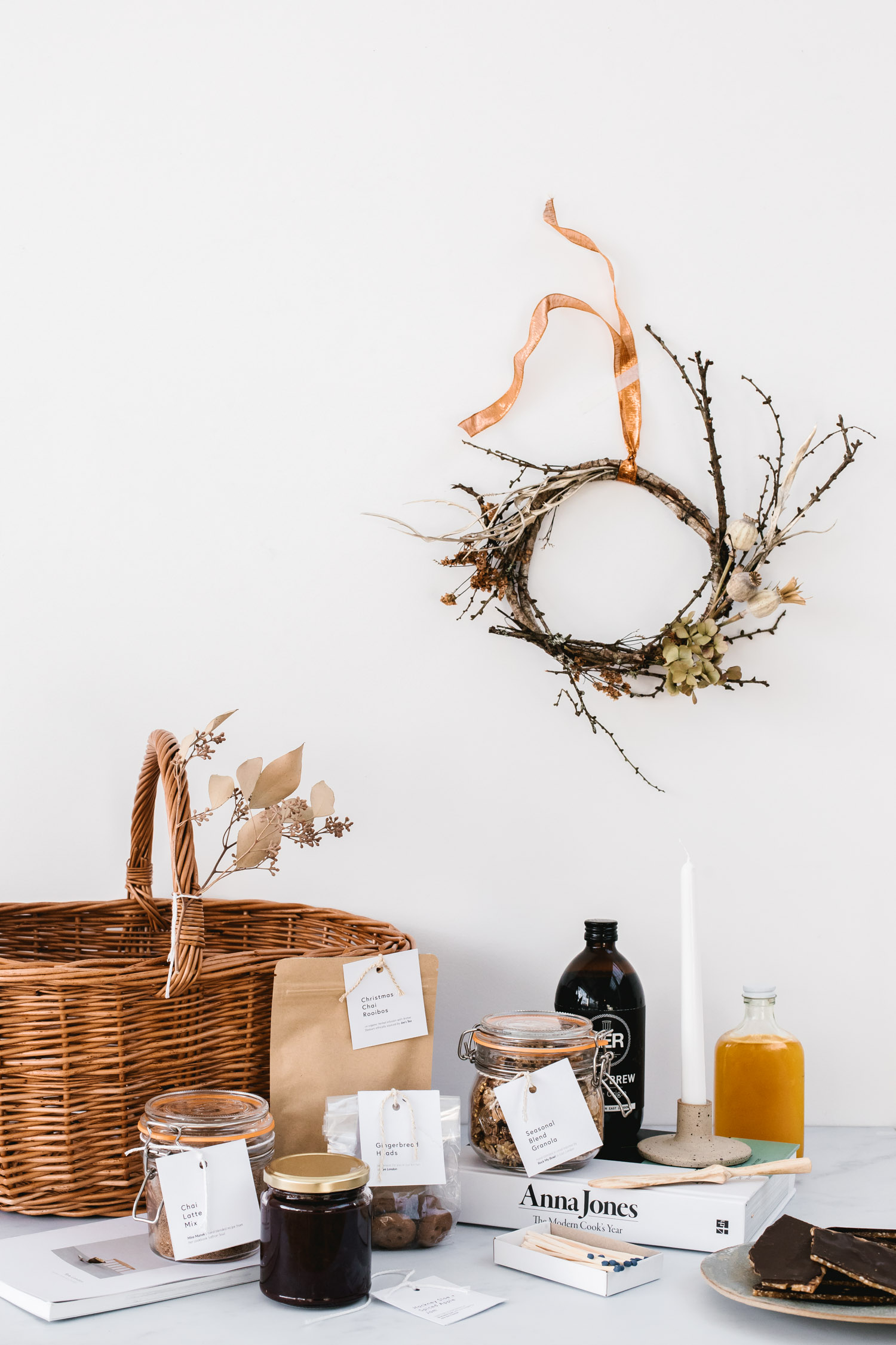 Seasonal Gift Basket by Rye