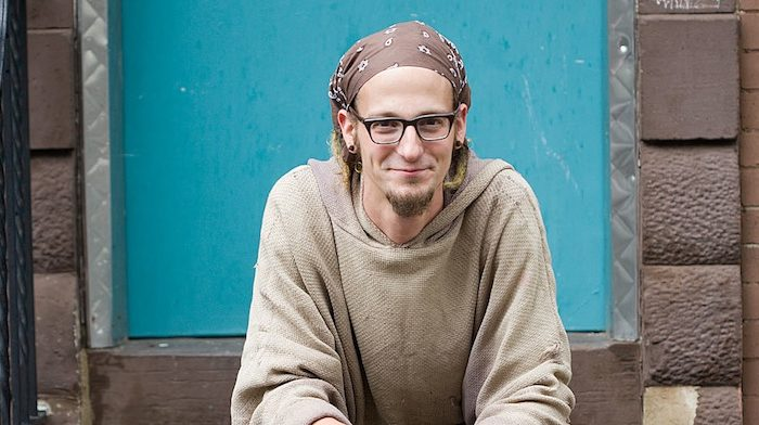 An Evening with Shane Claiborne , 2009, planned by Jennifer Martin through Myers Park United Methodist Church