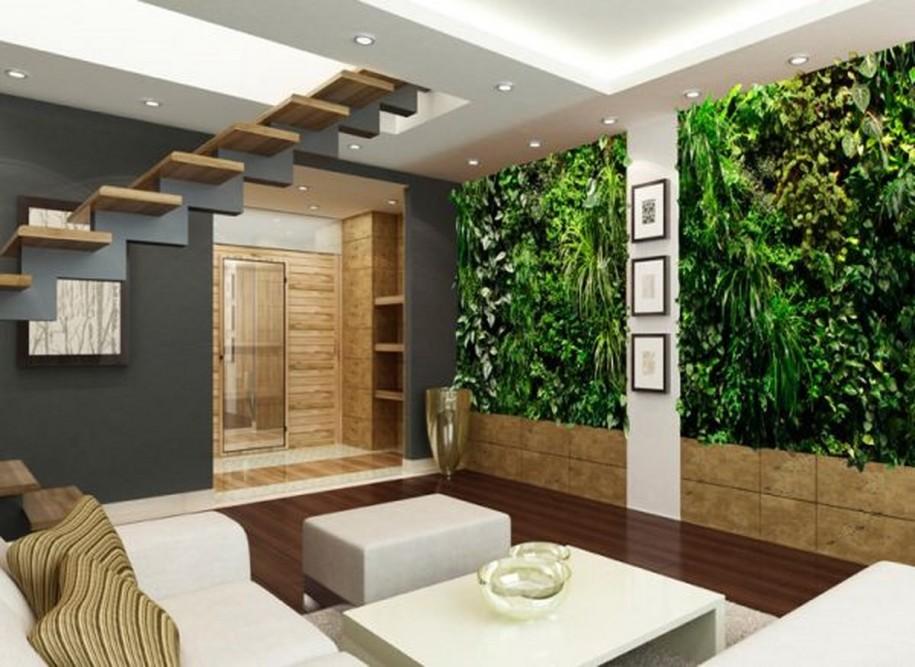 Outre leur effet apaisant, les plantes purifient l'air de la maison