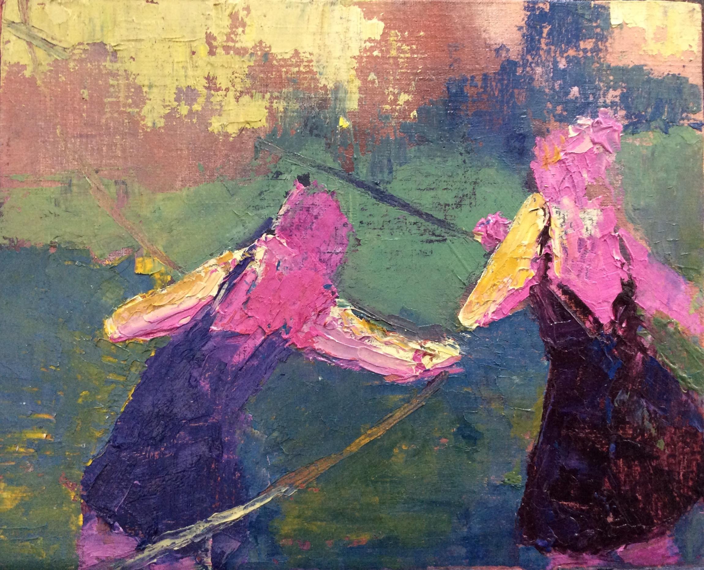 "Oil on Panel  11""x13""  2016"