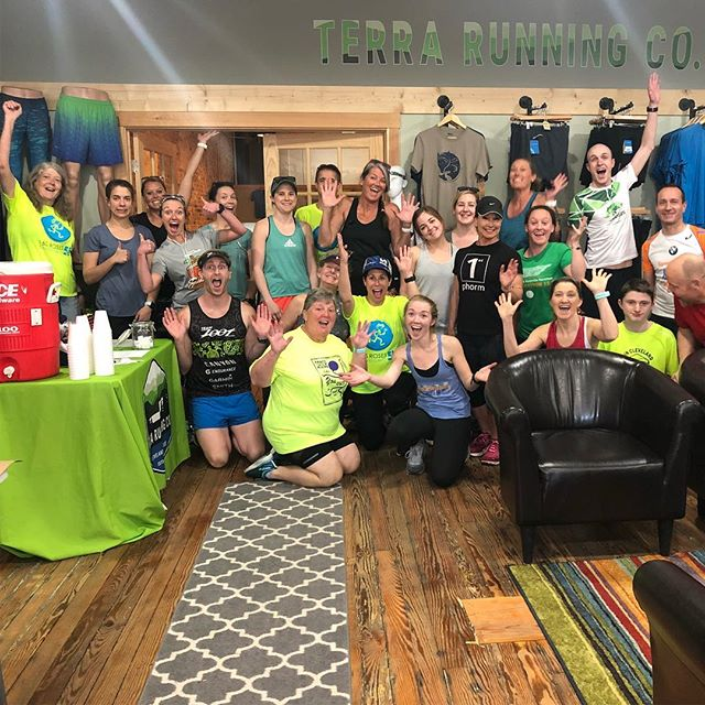 Thank you to everyone who celebrated with us last night at the preview run + sign up party! Can't wait to see you on race day! 🎉  #runcleveland #clevelandhalf #running #icecreamofinsta #party #runspiration #roadrunning