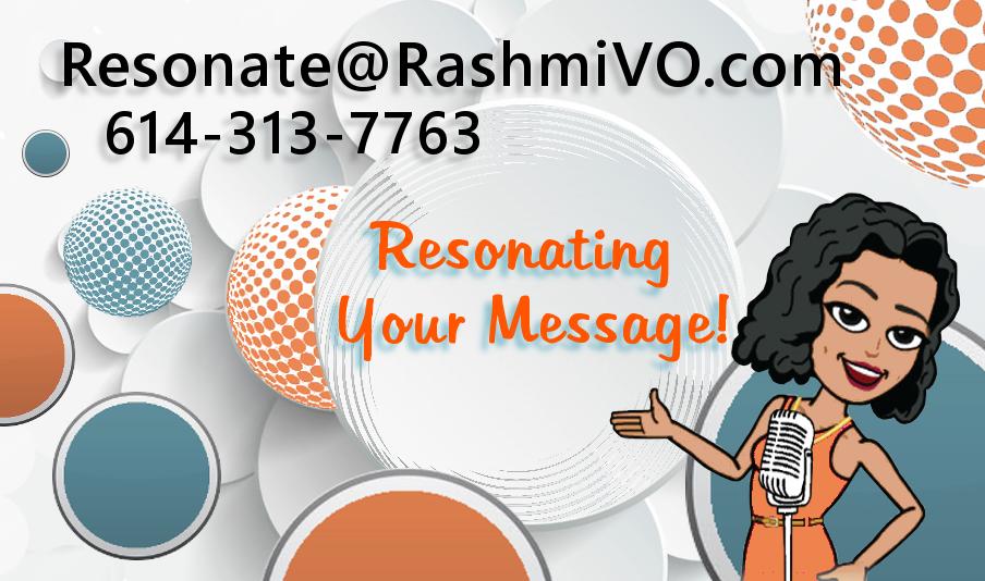 Rasmi Nemade business card side 1