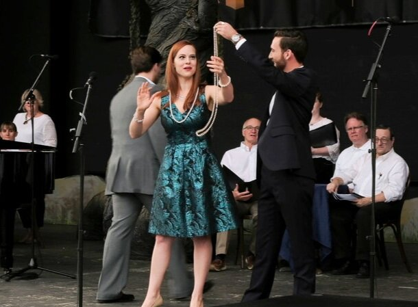 """Glitter and Be Gay,"" Indianapolis Opera. © Denis Ryan Kelly Jr."